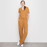 Soldes ! combinaison pantalon - feminin - orange - mademoiselle r