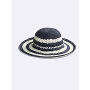 Soldes ! chapeau fille collection elle x cyrillus - feminin - bleu - cyrillus
