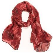 Soldes ! foulard motif plumes - secrets de mode