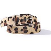 Soldes ! ceinture cuir, imprimé léopard - la redoute collections