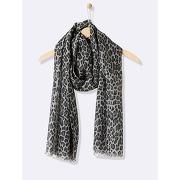 Soldes ! foulard femme imprimé léopard - cyrillus