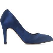 Soldes ! escarpins satin - feminin - bleu - la redoute collections