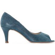 Soldes ! escarpins cuir - feminin - bleu - jonak