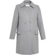 Manteau babylone gris galeries lafayette femme