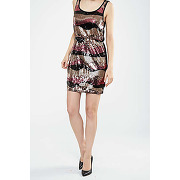 Robe sissi sequin only noir or