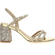 Sandales sparkle jaune ash femme