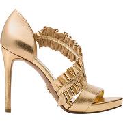Sandales bella jaune michael michael kors femme
