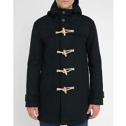 Duffle coat m.studio - duffle coat laine mélangée geoffroy navy