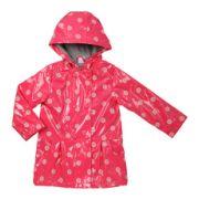 Parka effet ciré imprimé floral- manteaux - bébé - cadet rousselle