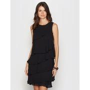 Soldes ! robe sans manches - feminin - noir - anne weyburn