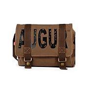 Nouveau sac de toile vintage sac à bandoulière pour ordinateur portable école cartable sac cartable