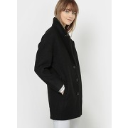 Manteau oversize micky check wool mix. soldes !