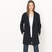 Caban, laine - feminin - bleu - atelier r