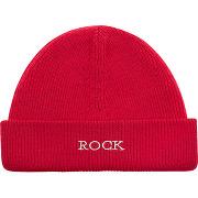 Bonnet glad bis en laine mérinos rouge zadig & voltaire femme