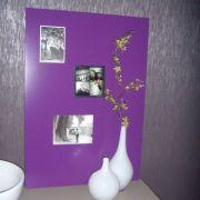 Ultra violet dans mon salon pureshopping - Tableau couleur prune ...