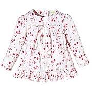 Manches longues blouse imprimee fille vertbaudet