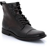 Boots en cuir à lacets. levi's