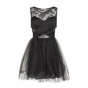 Naf naf robe noir dentelle