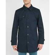 Trenchs selected pour homme - trench bleu marine phil