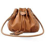 Sac fashion brun sac porté Épaule design pour femmes