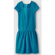 Robe manches courtes bleu femme - soft grey