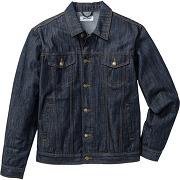 Veste en jean regular fit bleu manches longues homme - bonprix