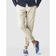 Chino coupe straight en coton stretch dotalia