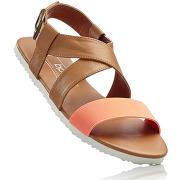 Sandales marron chaussures & accessoires - bonprix