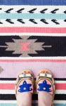 Adoptez un tapis imprimé ethnique !