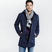Trench droit homme