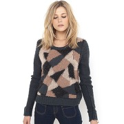 Pull effet camouflage autres - soft grey
