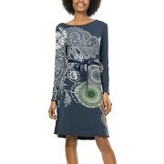 Robe anais - bleu - femme - desigual - solde