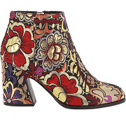 Bottines calflowry multicolore mellow yellow femme