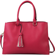 Sac shopping jamelle rose galeries lafayette femme
