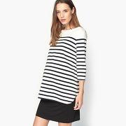 Soldes ! tee shirt marinière de grossesse - feminin - vert - la redoute collections