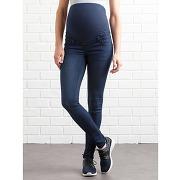 Soldes ! jean shaping de grossesse entrejambe 82 - feminin - bleu - vertbaudet