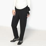 Soldes ! pantalon de grossesse coupe droite - feminin - noir - la redoute collections