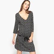 Soldes ! robe de grossesse en maille - feminin - noir - la redoute collections