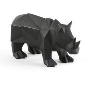 Soldes ! rhinocéros décoratif blazia - noir - la redoute interieurs