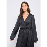 Robe cache-cœur rimbaud noir