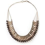 Collier, ras de cou rose/taupe-rose-taille unique-femme > accessoires > bijoux > collier