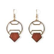 Boucles d'oreilles fantaisie doré-autres-taille unique-femme > accessoires > bijoux > boucles d'oreilles
