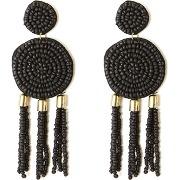 Boucles d'oreille, esprit ethnique noir-noir-taille unique-femme > accessoires > bijoux > boucles d'oreilles