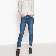 Jean mom l32 nora stone washed