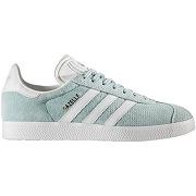 Soldes ! baskets gazelle w - feminin - vert - adidas originals