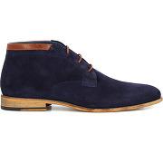 Desert boots jacot bleu comptoir gl homme