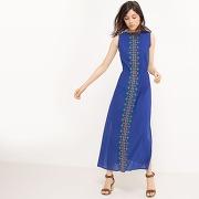 Soldes ! robe longue fantaisie - feminin - bleu - r edition