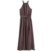 Soldes - longue robe imprimee femme imprime multicolore - promod