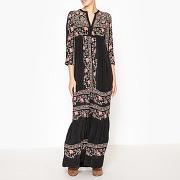 Soldes ! robe imprimée alyssa - feminin - noir - stella forest