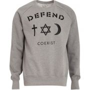 Defend paris sweat coexist gris - solde